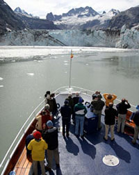 Glacier viewing