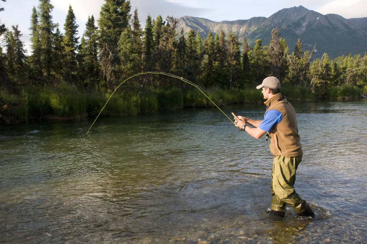 This Kenai River lodge offers perfect fishing opportunities for every angler