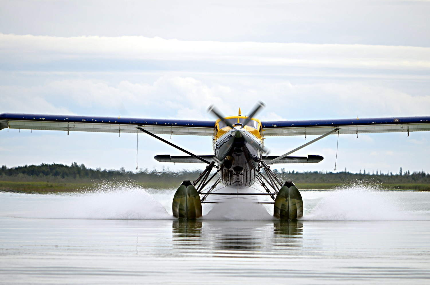 Alaskan Adventures, like sightseeing an a float plane, are perfect for your Kenai River Lodge adventures