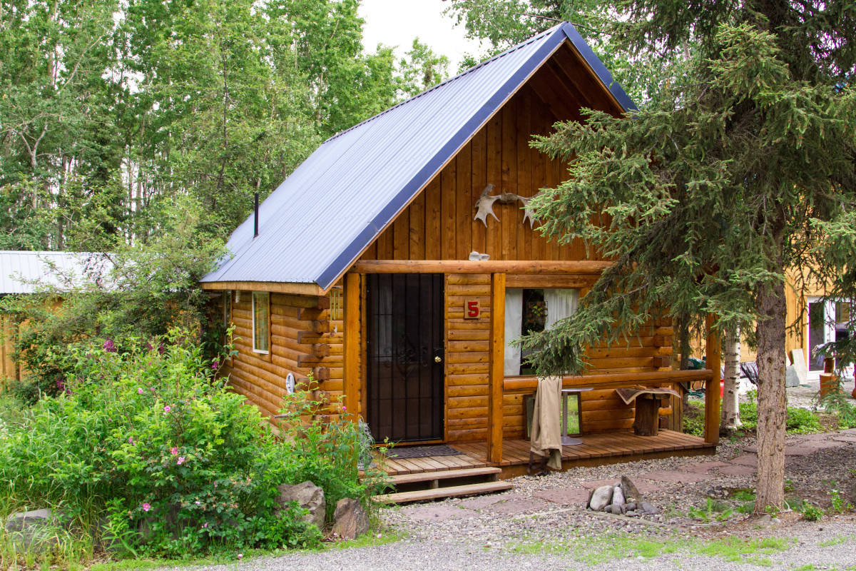 Luxury Cabin at a Kenai River Lodge